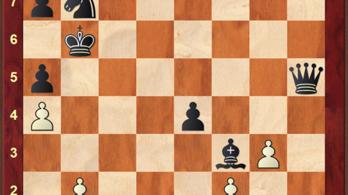 Ha csőbe húzzuk a királyt, nem számít a szorult helyzet