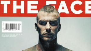 David Beckham kockahascímlappal üdvözölte, hogy visszatér egy legendás magazin
