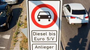 Dízeltiltások és korlátozások Európában