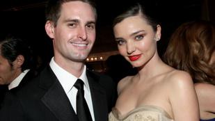 Orlando Bloom exe, Miranda Kerr harmadik babájával terhes
