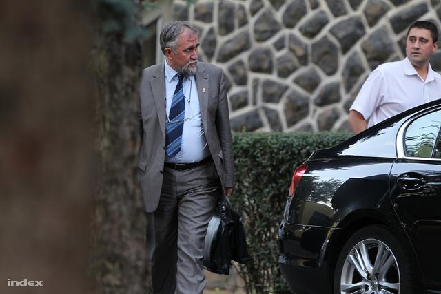Ángyán a Fidesz tavaly szeptemberi, hajdúszoboszlói frakcióülésén.