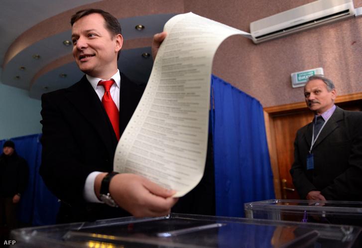 Ljasko már 2014 októberében sem hagyott kétséget a saját szavazata felől