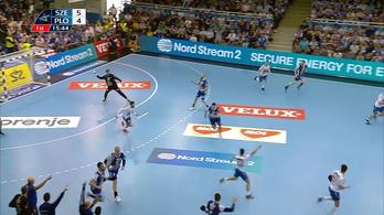 Alilovic egészpályás gólja után kettős győzelemmel BL-negyeddöntős a Szeged