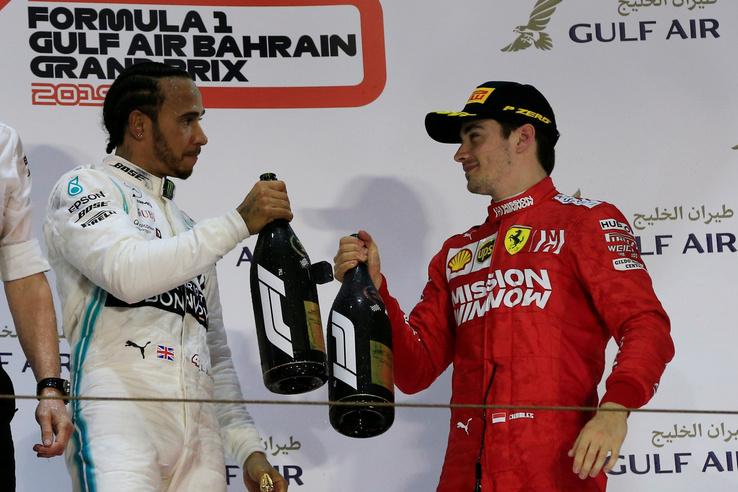 Hamilton és Leclerc