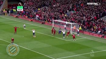 Nevetséges öngóllal adta a győzelmet a Liverpoolnak a Spurs