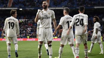 Benzema csodás csavarásával nyert a Real