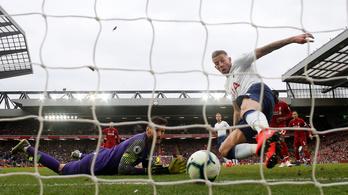 A Liverpool a legveszélyesebb angol csapat a 90. percben vagy utána