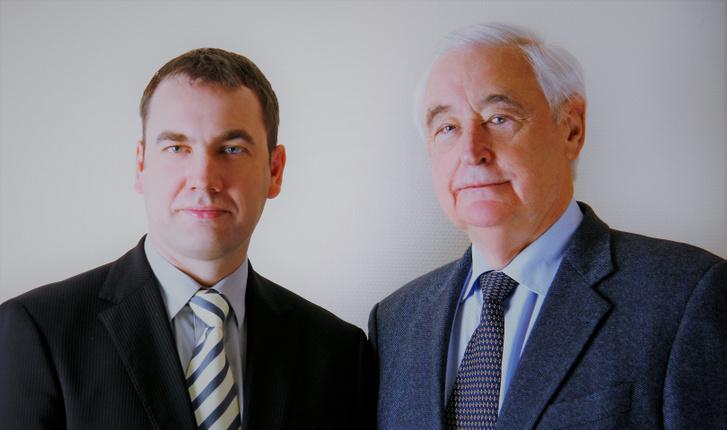 Dr. Czeizel Endre és Merhala Zoltán, a Czeizel Intézet vezetője, 2007