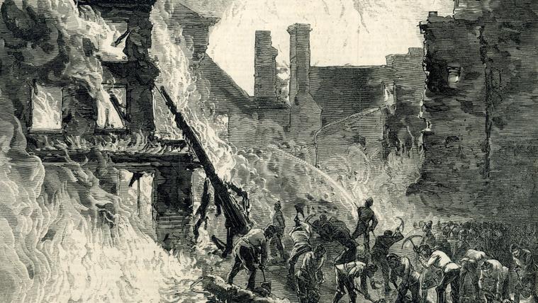 13-an itták magukat halálra a dublini whiskey-áradásban (és leégett a fél város)
