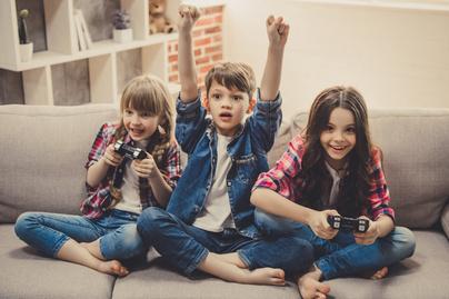 videojatek gyerekek
