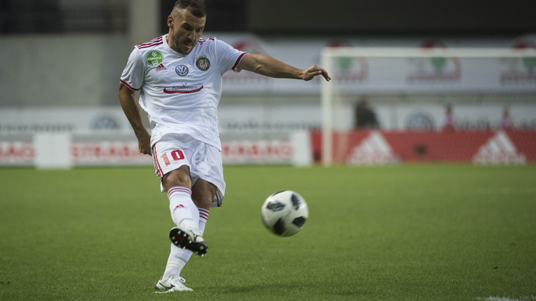 A játékpercek 19 százaléka jutott magyar futballistának az NB I.-es Kisvárdánál