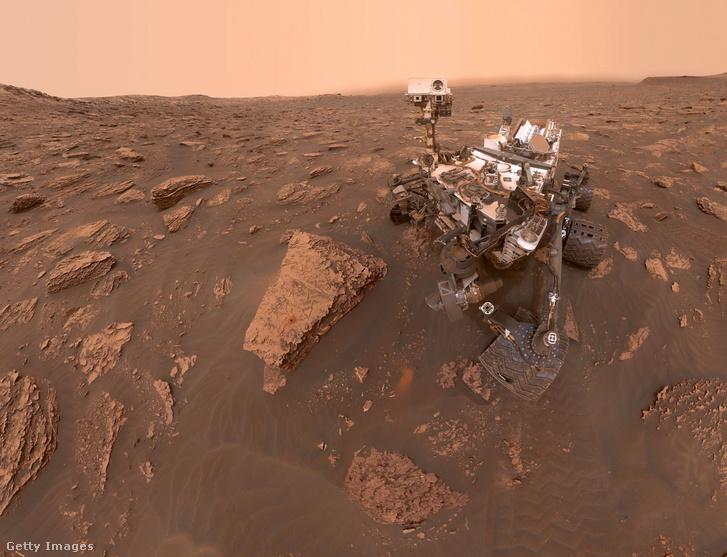 Curiosity önarcképe a Marson 2018. június 20-án