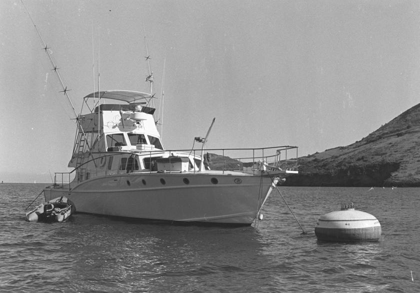 Ezen a hajón lelte halálát Natalie Wood.
