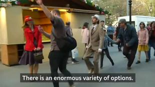 Világhírű lett a budapesti hülye járás