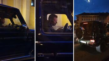 50 milliós Mercedesben fotózták le Tiborczot