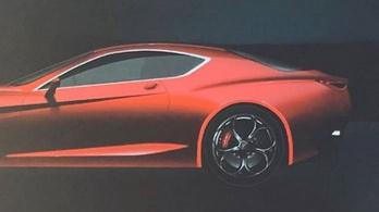 Ilyen lehet az Alfa új sportkocsija