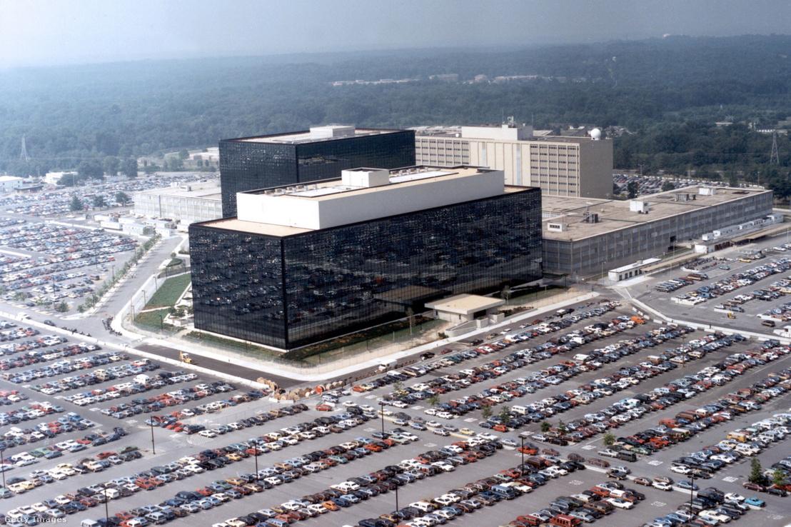 Az NSA Maryland-i Fort Meade-ben lévő székhelye. A DarkMatter több alkalmazottat elcsábított, akik korábban az Amerikai Védelmi Minisztérium alkalmazásában álltak.