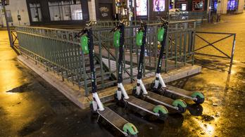 Hamarosan indul a budapesti elektromosroller-kölcsönző tesztje