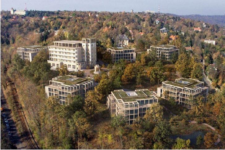 Buda Hills lakópark látványterve