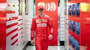 Kereste a szavakat a kis Schumacher a Ferrari-teszt után