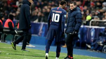 Neymar újra edzésben