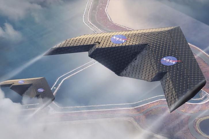 Koncepciórajz a hasonló szárnystruktúrájú repülőkről