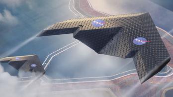 Forradalmi repülőszárnyat fejlesztett ki a NASA