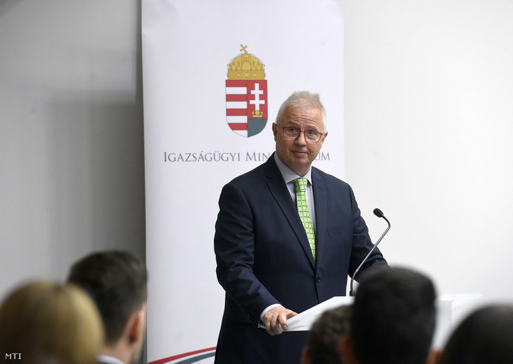 Hungary's Minister of Justice, László Trócsányi
