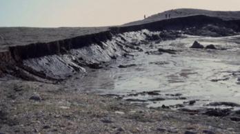 A földcsuszamlások teljesen átformálják a kanadai szigetvilágot