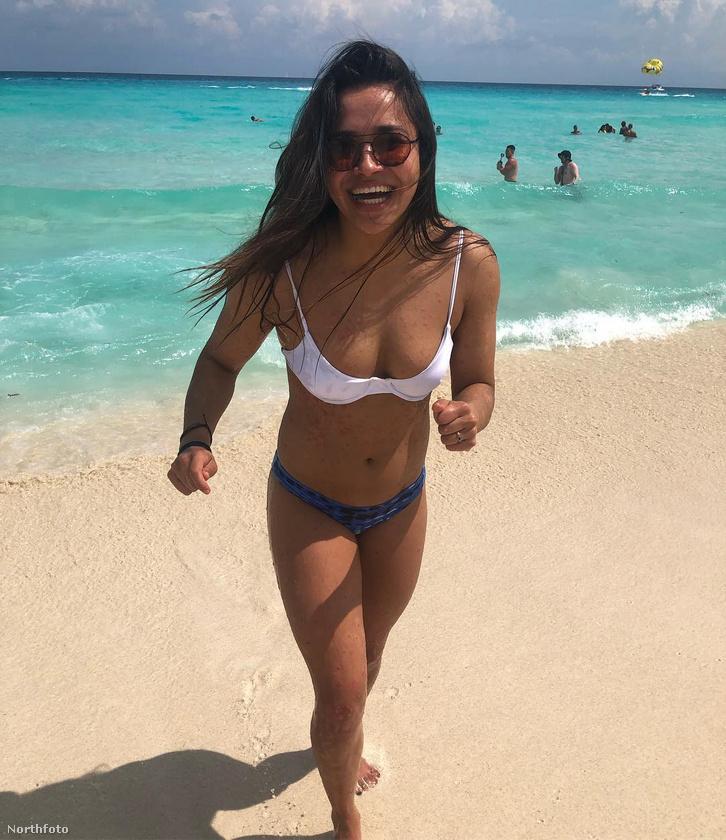 Sophia Chen már magabiztosan jár strandra is, míg Kim Kardashian vastagon bealapozózza magát.