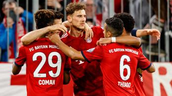 Kilencgólos thriller lett a Bayern simának tűnő kupameccséből