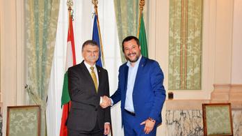 Salvini Magyarországra jön, és szeretne szövetséges maradni a Fidesszel