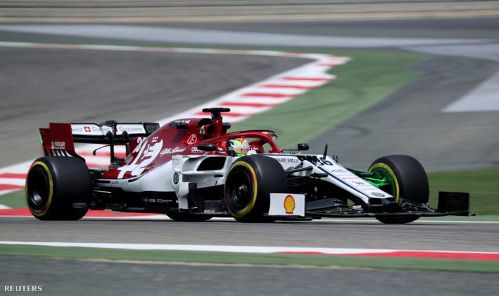 Mick Schumacher az Alfában