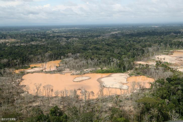 Erdőirtás Peruban, az Amazonas mentén
