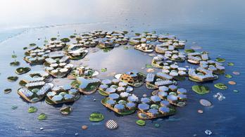 Úszó városok adhatnak otthont a klímamenekülteknek