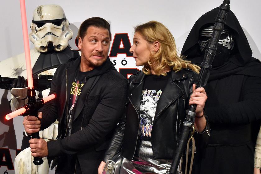 A sztárpár a 2017-es Star Wars-film bemutatóján együtt jelent meg.