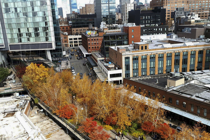 High Line Park New York-ban