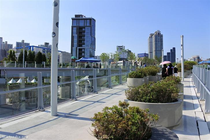 Seoul 7017 park Szöulban