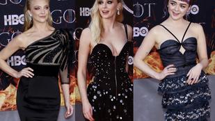 Elég dögösek voltak a Trónok harca színésznői a sorozat utolsó évadának premierjén