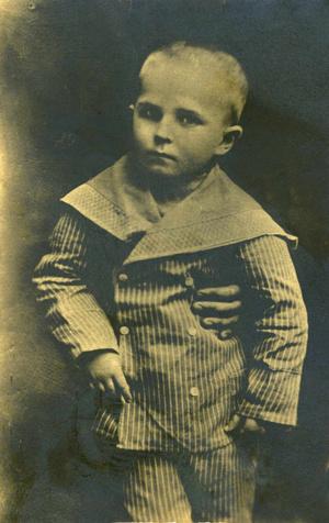 Páger Antal gyermekkori fényképe