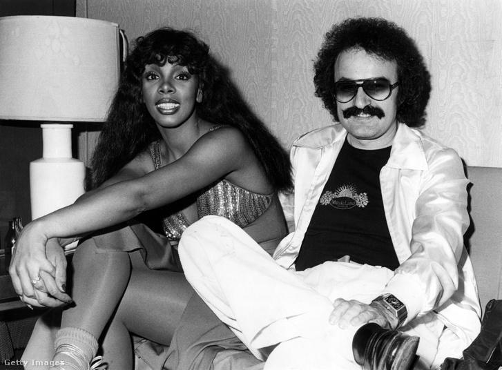 Giorgio Moroder és Donna Summer 1976-ban