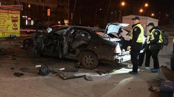 Merényletet követtek el az ukrán titkosszolgálat tagja ellen Kijevben