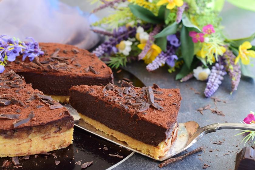 Ellenállhatatlan, csokis, kekszes torta: ezt még sütni sem kell