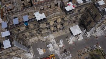 A légkondicionálóból indult ki a tűz, amelyben leégett a Brazil Nemzeti Múzeum