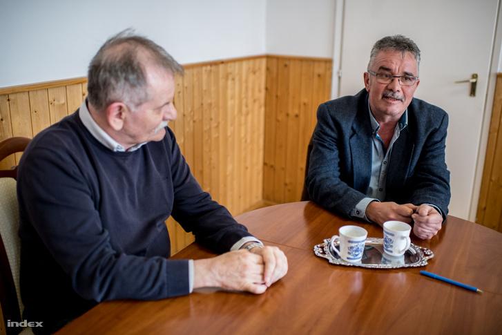 Nagy Gábor és dr. Bokányi Péter