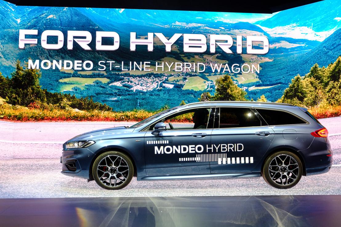 Új csak az ST kombiverziója a Mondeo hibridből