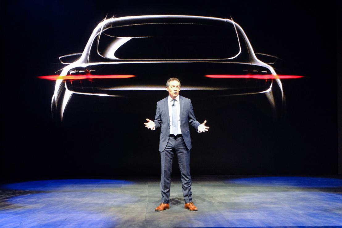 Az egyetlen kép a nevenincs Mustang-szerű SUV-ról