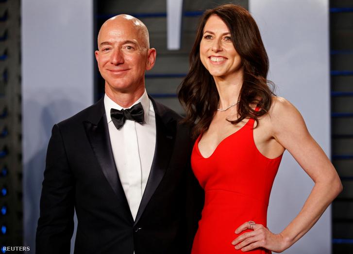 Jeff és MacKenzie Bezos