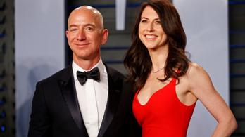 Bezos volt felesége lett a világ 3. leggazdagabb asszonya