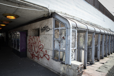 Kívülről nem újították fel Újpest városkapu állomást